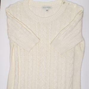 Banana Republic Cream Ivory Sweater Medium